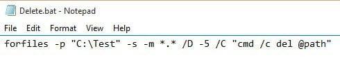 Cómo eliminar archivos automáticamente en Windows
