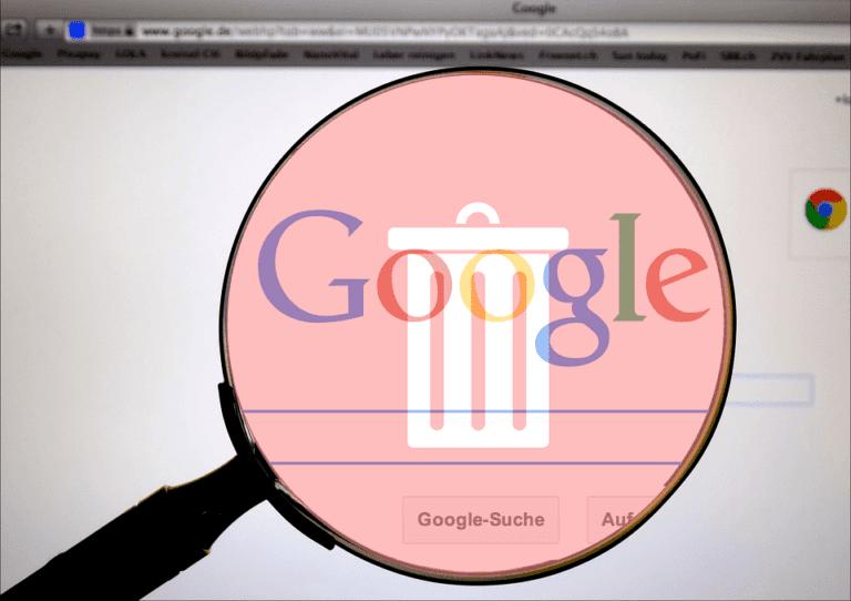 Cómo eliminar datos de su cuenta de Google