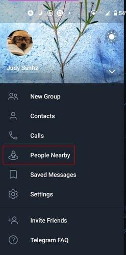 Cómo encontrar personas cercanas a ti en Telegram