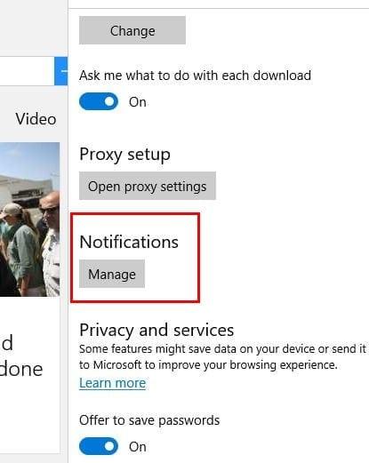Cómo evitar que Edge, Chrome, Opera y Firefox muestren notificaciones