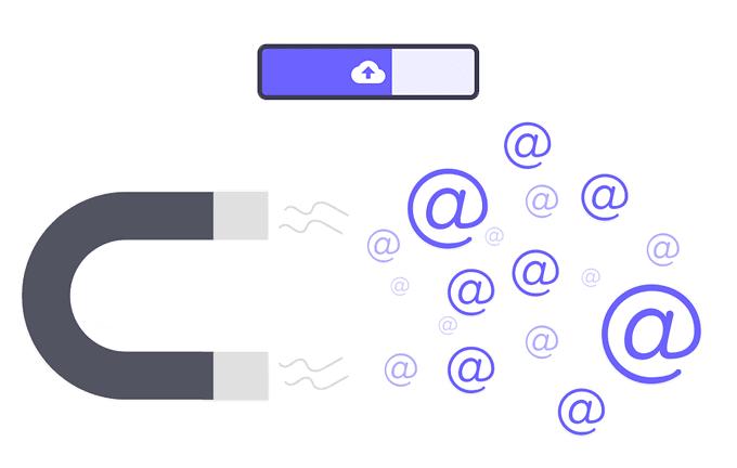 Cómo guardar automáticamente archivos adjuntos de correo electrónico en el almacenamiento en la nube