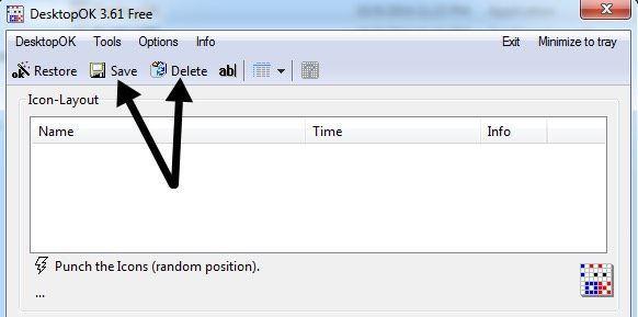 Cómo guardar el diseño de los iconos de su escritorio en Windows XP, 7, 8