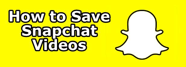 Cómo guardar videos de Snapchat