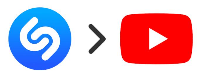 Cómo importar canciones de Shazam a YouTube
