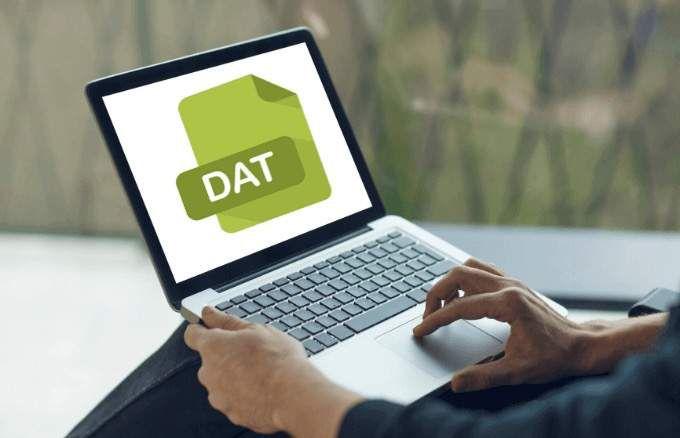 Cómo leer y abrir archivos .DAT en Windows