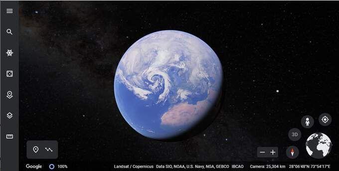 Cómo medir la distancia en Google Earth