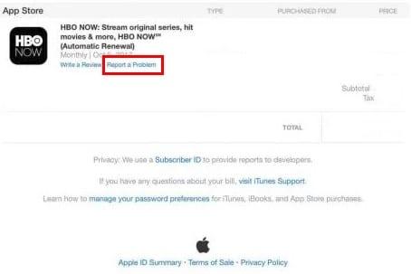 Cómo obtener un reembolso en la App Store de Apple