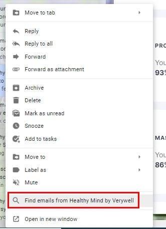 Cómo organizar sus correos electrónicos de Gmail por etiqueta, remitente y asunto