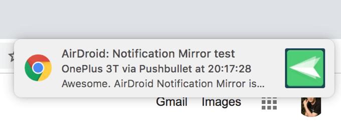Cómo recibir notificaciones desde su dispositivo Android a su computadora