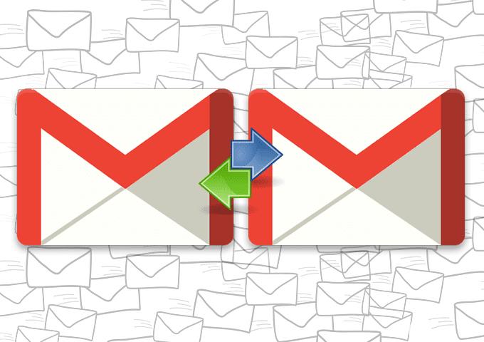 Cómo reenviar correos electrónicos entre dos cuentas de Gmail