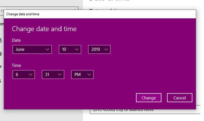 Cómo reparar el error 0x80072F30 de Microsoft Store Verifique su conexión