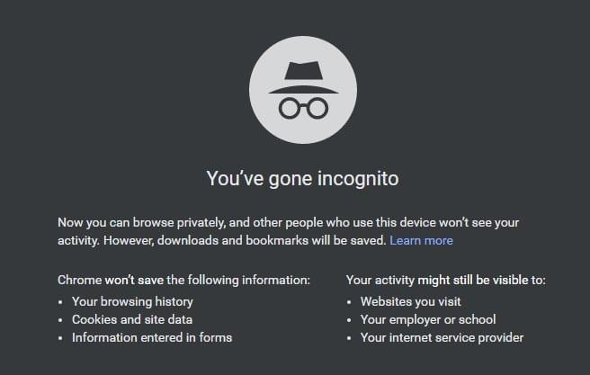 Cómo reparar el error de Chrome que no carga páginas