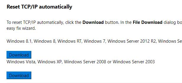 Cómo solucionar y corregir el error de Winsock en Windows