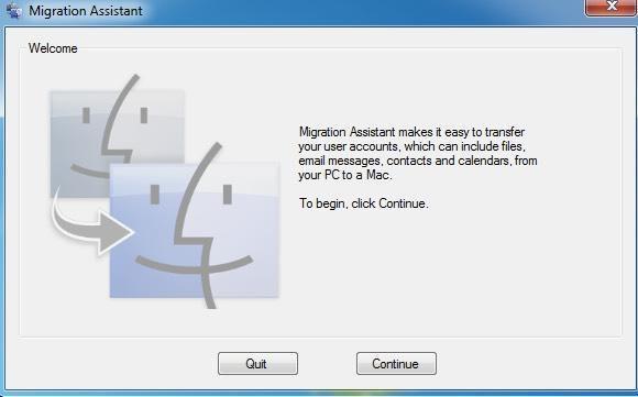 Cómo transferir o migrar archivos de una PC con Windows a Mac