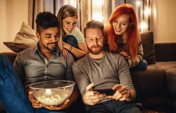 Cómo ver Netflix con amigos