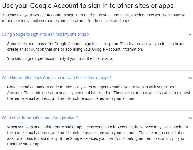 Cómo verificar sus aplicaciones conectadas a Google y Facebook