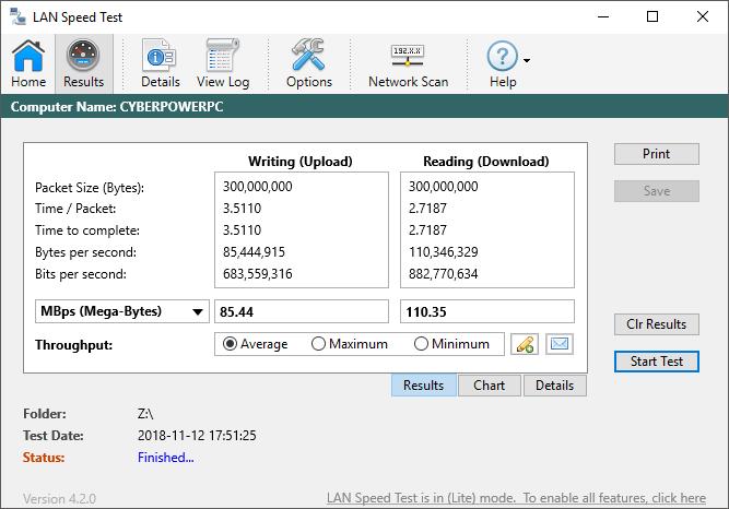 Comprender las velocidades de transferencia de datos de LAN