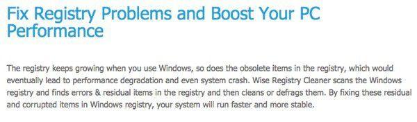 El mejor limpiador gratuito del registro de Windows