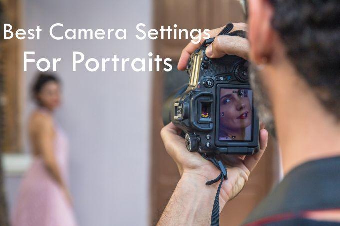 La mejor configuración de cámara para retratos