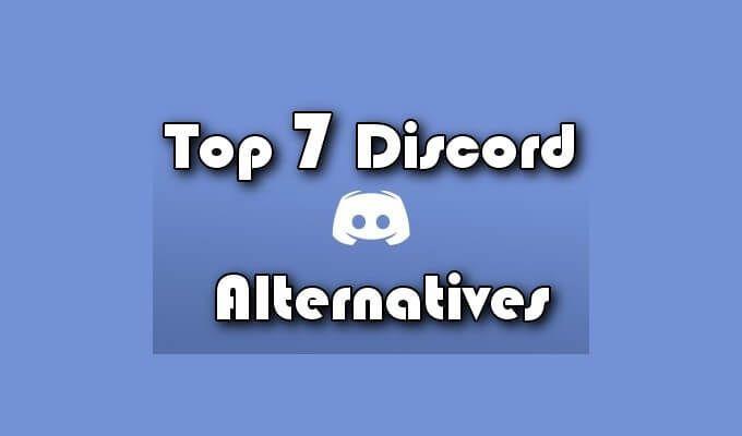 Las 7 mejores alternativas de Discord