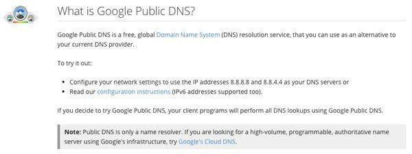 Los mejores servidores DNS públicos gratuitos