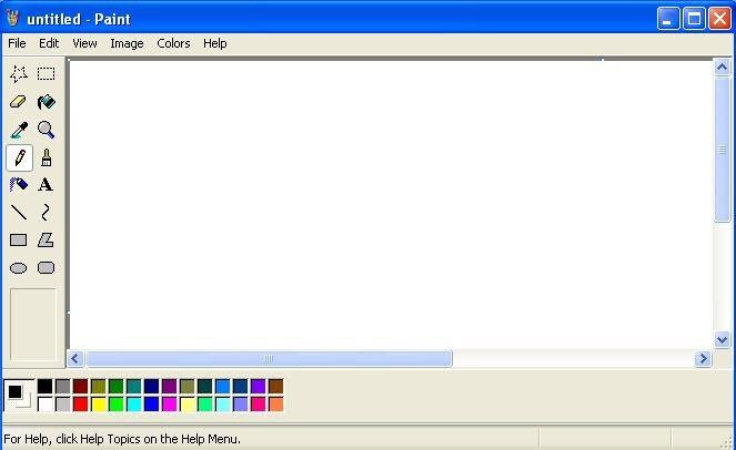 Revisión de Windows 7 MS Paint