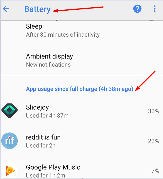 Solución: la batería de Google Pixel se agota rápidamente