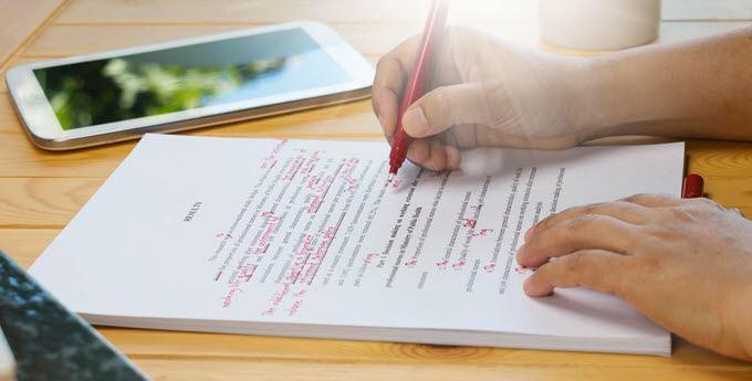 Tres herramientas de edición para escritores
