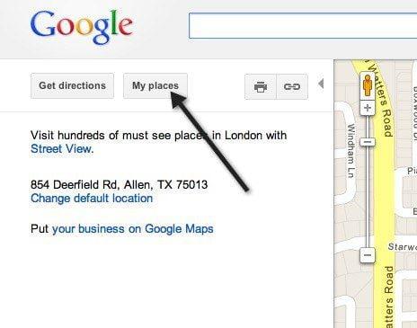 Ver su historial de búsqueda de Google Maps