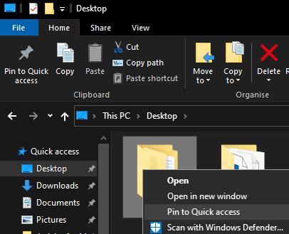 Windows 10: cómo anclar un elemento para un acceso rápido