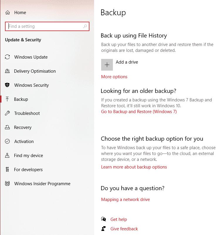 Windows 10: copia de seguridad y restauración de datos