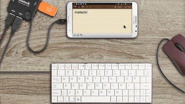 Android: conecte el mouse y el teclado
