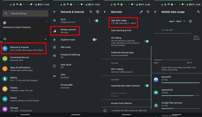 Bloquear el acceso a Internet para aplicaciones específicas de Android