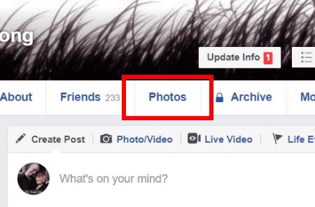 Cómo crear álbumes de Facebook