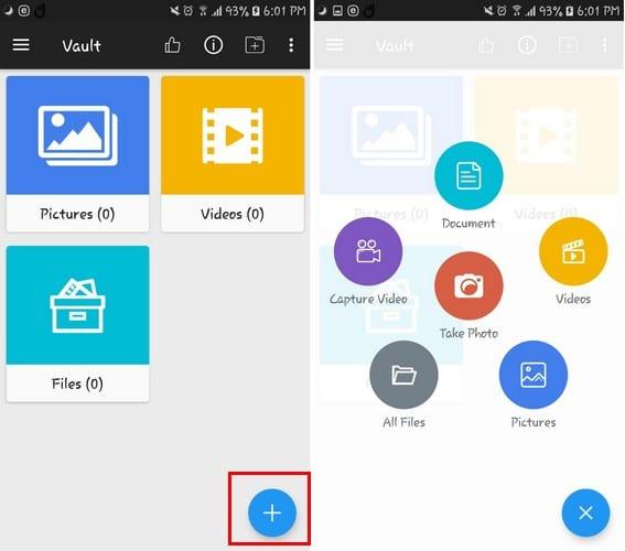 Cómo ocultar imágenes, videos y documentos en Android