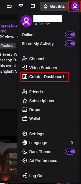 Twitch.tv: Cómo configurar una imagen de marcador de posición cuando no estás conectado