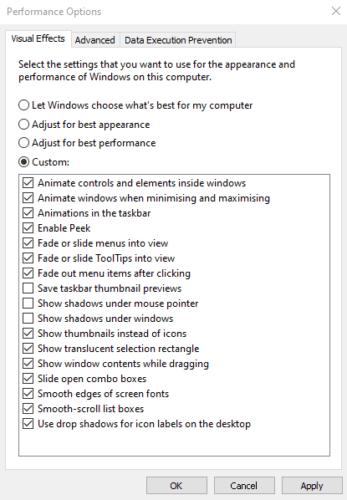 Windows 10: Cómo ocultar la sombra de la ventana