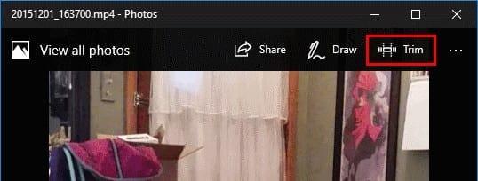 Windows 10: Cómo recortar un video