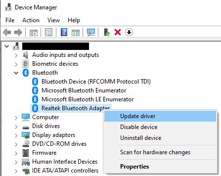 Windows 10: Cómo solucionar problemas de auriculares Bluetooth