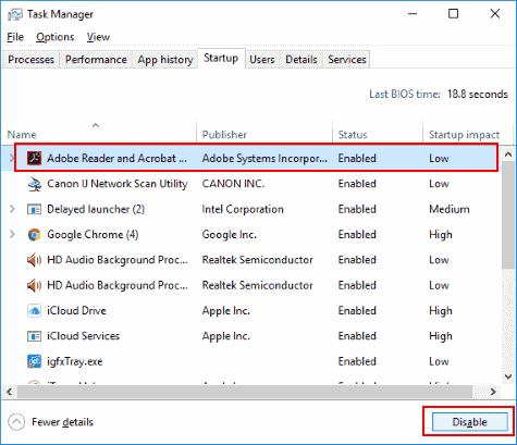 Windows 10: cambie los programas de inicio
