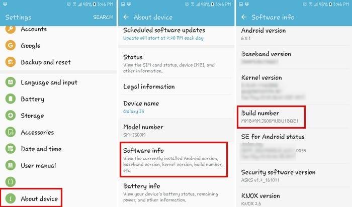 Windows 10 no reconoce el dispositivo Android