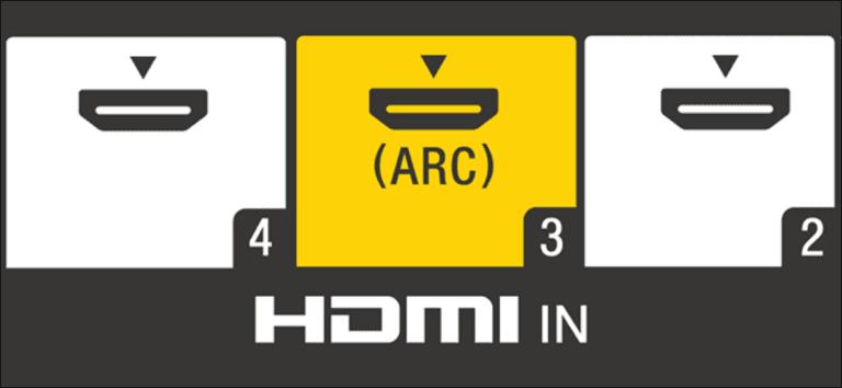 ¿Qué es este puerto HDMI ARC en mi televisor?