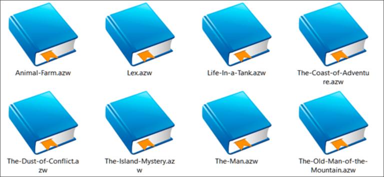 ¿Qué es un archivo AZW (y cómo abro uno)?