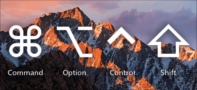 ¿Qué significan realmente los símbolos del teclado de Mac?