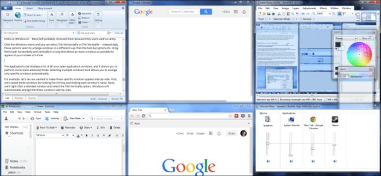 4 consejos para administrar ventanas ocultas en el escritorio de Windows