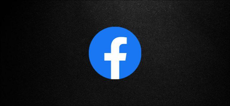 Cómo activar el modo oscuro en el escritorio de Facebook