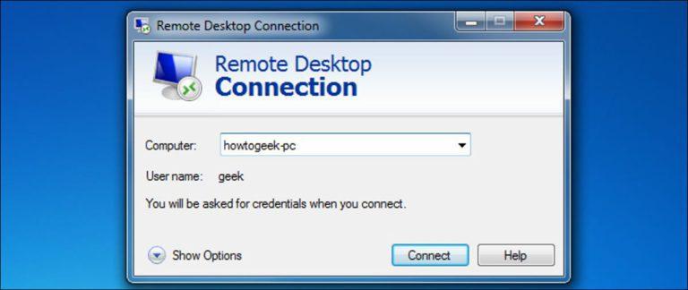 Cómo activar y asegurar el escritorio remoto en Windows