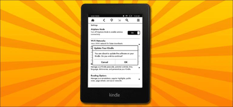 Cómo actualizar manualmente su Kindle