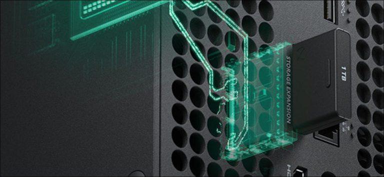 Cómo ampliar el almacenamiento de Xbox Series X | S