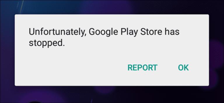 Cómo arreglar Google Play Store cuando sigue cerrando